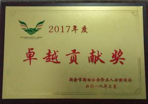 2017年卓越贡献奖